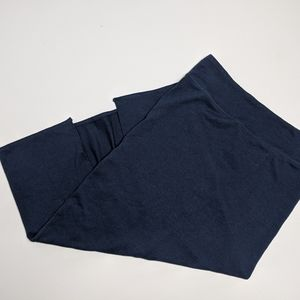 Aritzia Wilfred Free Navy Skirt Large